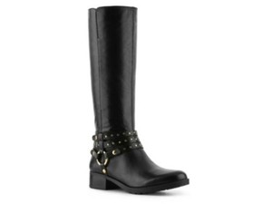 Nine West Weymouth Womens Black Boots