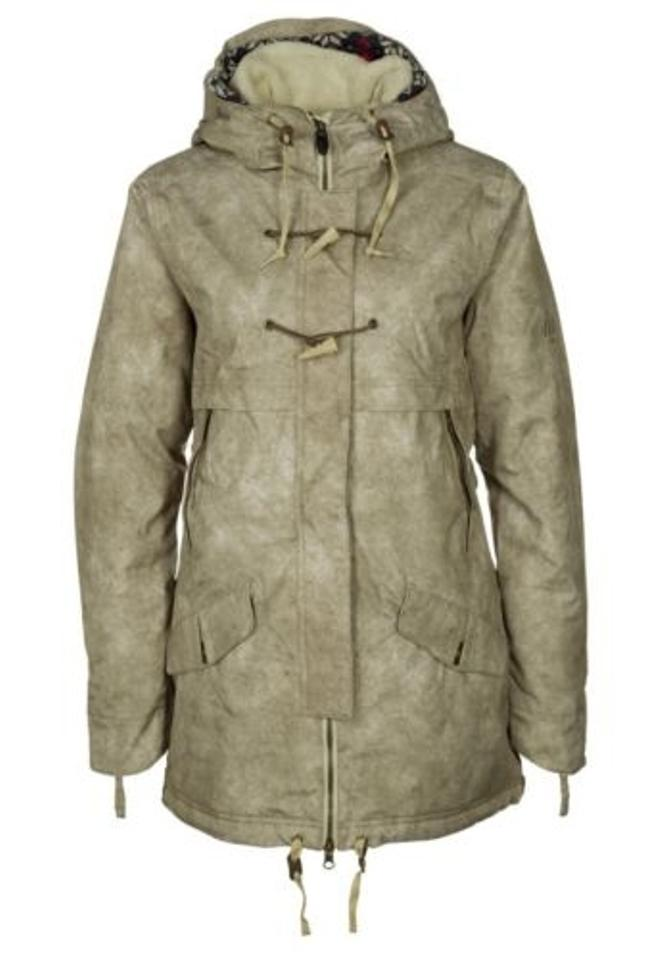 686 Reserved Toggle Parka L3w310 Womens Taupe Beige Ski Snowboard