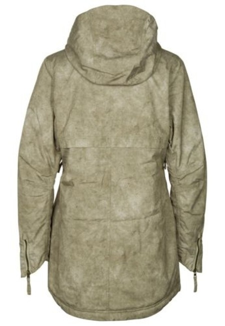 Other 686 Reserved Toggle Parka L3w310 Womens Taupe Ski Snowboard Jacket Coat