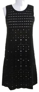 Chanel short dress Black, White on Tradesy