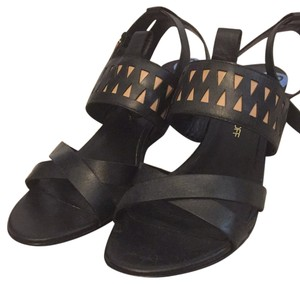 Rebecca Minkoff Summer Pattern Comfortable Black (beige pattern) Sandals