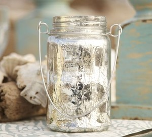 Mercury Hanging Mason Jars