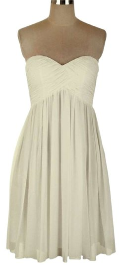 Preload https://img-static.tradesy.com/item/550277/ivory-chiffon-strapless-sweetheart-pleated-bust-casual-bridesmaidmob-dress-size-16-xl-plus-0x-0-1-540-540.jpg