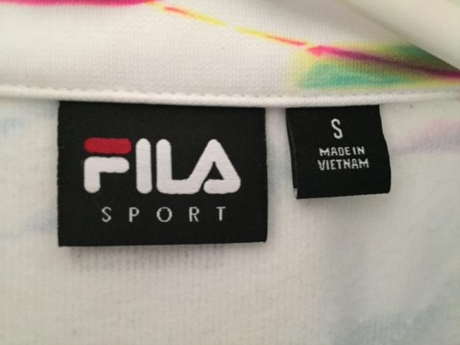 Fila Fila Sport Curve 1/4-Zip Printed Fleece-Lined Woman's Pullover