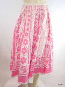 Body Central White Skirt Pink