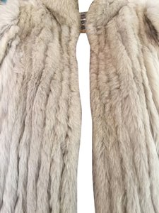 Saga Furs Fur Blue Fox Fur Coat
