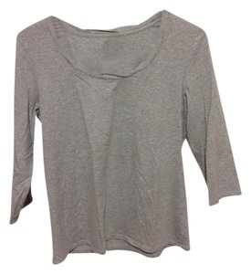 Coldwater Creek M Medium Top Grey