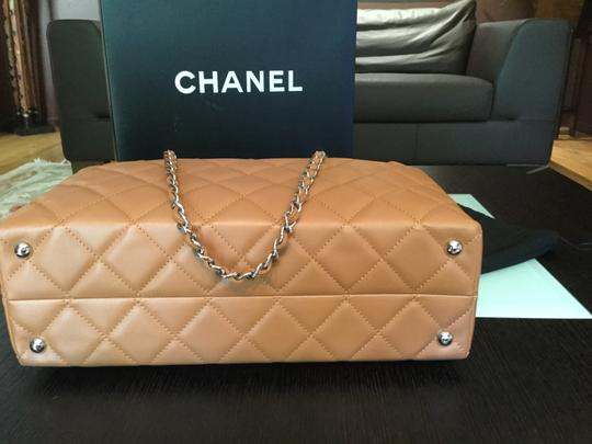 Chanel Like New Perfect For Rich Color Camel Travel Bag