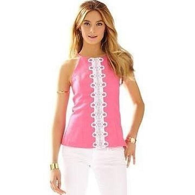 Lilly Pulitzer Hotty Pink Halter Top