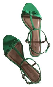 Talbots Green Sandals
