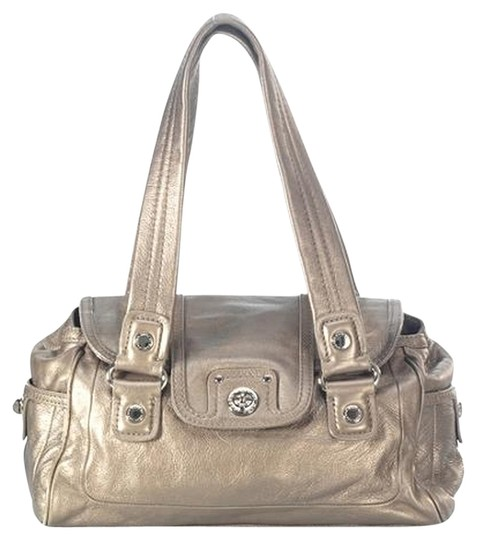 Marc Jacobs Totally Turnlock Large Satchel in Gold