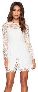 Jillian Shatken short dress White on Tradesy