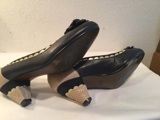 Poetic License Green and Bone Pumps