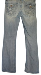 Big Star Flare Leg Jeans-Distressed