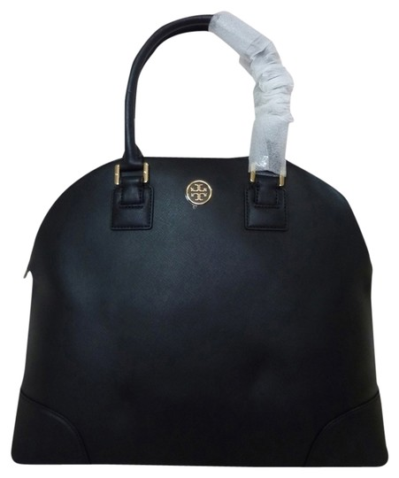 Preload https://item3.tradesy.com/images/tory-burch-robinson-dome-black-saffiano-leather-satchel-5505427-0-0.jpg?width=440&height=440