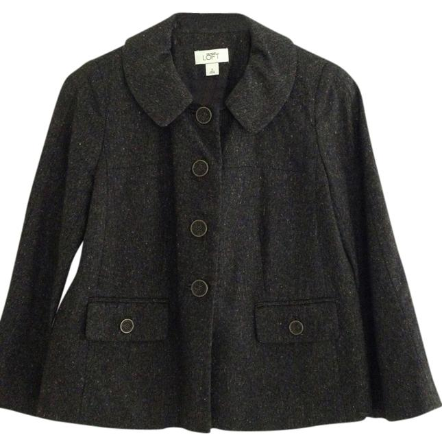 Item - Dark Gray Hints Of Red and Green Winter Blazer Size 0 (XS)