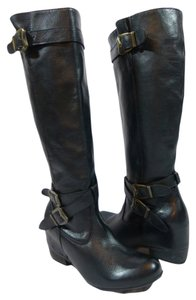 Miz Mooz Leather Black Boots