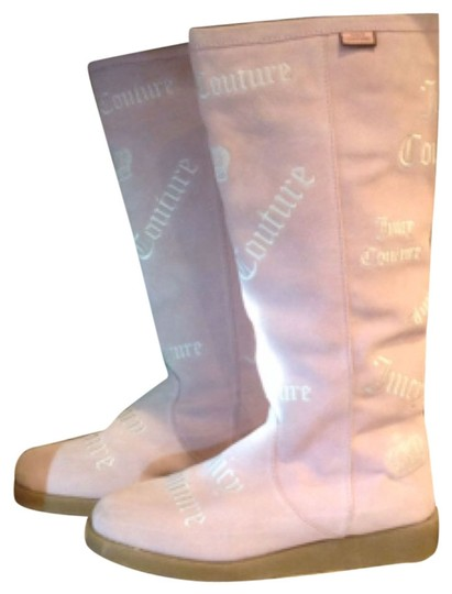 Juicy Couture Pink Boots