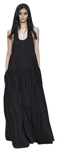 black Maxi Dress by Vera Wang 100% Silk Maxi