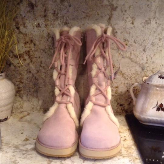 Roxy Pink Boots