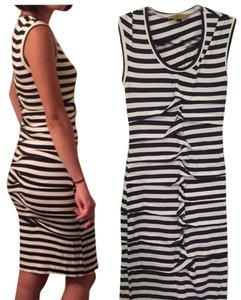 Nicole Miller short dress Striped on Tradesy