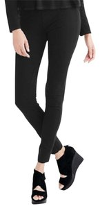 Eileen Fisher Pull On Ponte Straight Pants CHARCOAL