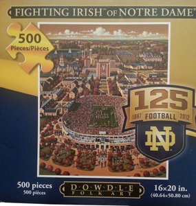 Eric Drwdle Puzzle Notre Dame Irish Laptop Bag