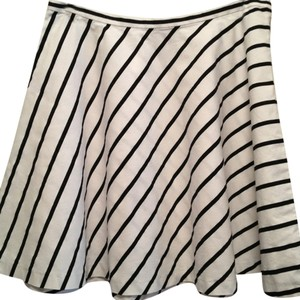 Ralph Lauren And Skirt Black & White Stripes