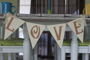 The Handford Collection Love Banner