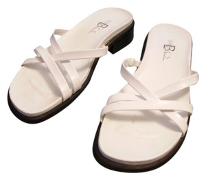Croft & Barrow White Sandals