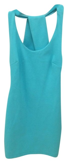 Preload https://item5.tradesy.com/images/zara-aqua-blue-with-criss-cross-back-short-casual-dress-size-6-s-5508709-0-0.jpg?width=400&height=650