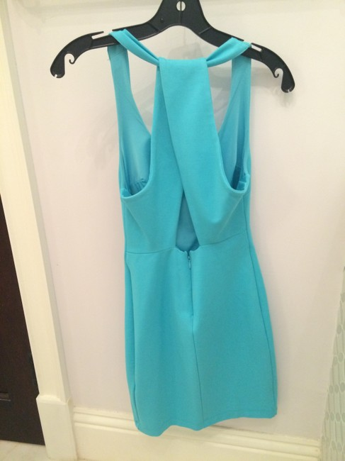 Zara short dress Aqua on Tradesy