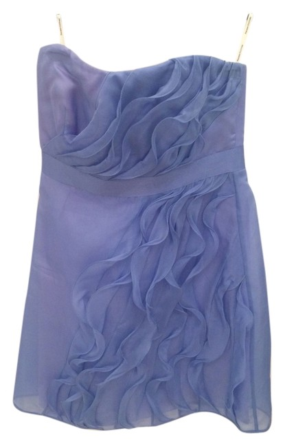 Item - Periwinkle Strapless Above Knee Cocktail Dress Size 4 (S)