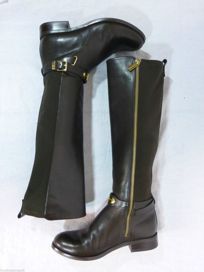 Michael Kors Leather Brown Boots