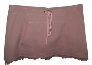 Wet Seal Mini Skirt light pink