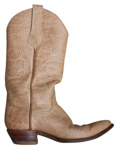 Larry Mahan Vintage Classic Exclusive Natural Boots