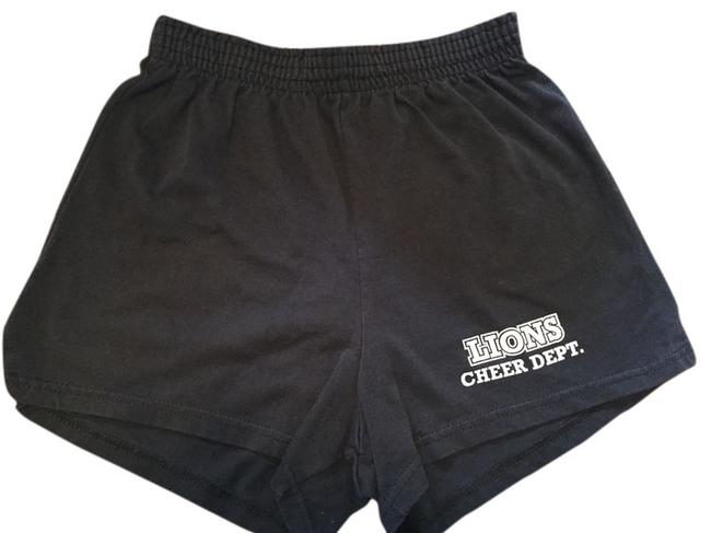 Item - Black and White Stripe Lions Cheer Shorts Size 8 (M, 29, 30)