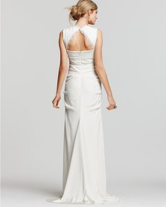 Nicole Miller Bridal D10014 Square Neck Lace Wedding Dress