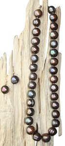 Lasting Impressions Natural Baroque Chocolate Pearl 17