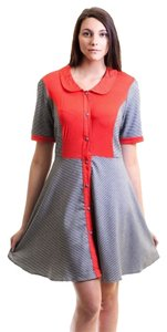 COCOLOVE short dress Houndstooth Modcloth Xl on Tradesy