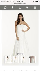 David's Bridal Yp3344 Wedding Dress