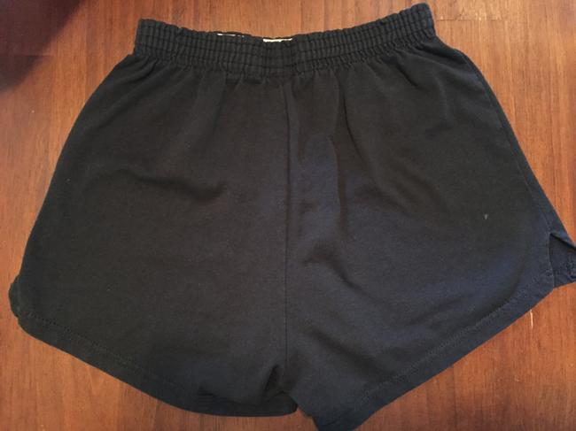 Soffe Cheer Cheerleading Olympic Heights Black and White Shorts
