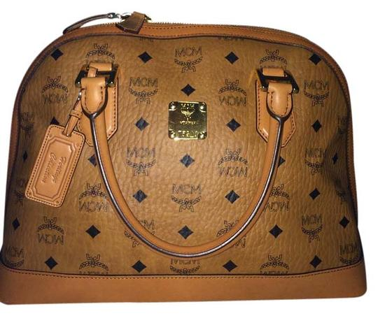 Preload https://item5.tradesy.com/images/mcm-heritage-collection-cognac-leather-satchel-5512249-0-0.jpg?width=440&height=440