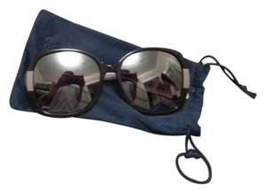 Cole Haan Cole Haan Oversized Mirrored Sunglasses