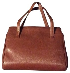 Mark Cross Vintage American Designer Rare Mad Men Satchel in Brown