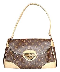 Louis Vuitton Monogram Beverly Mm Excellent Shoulder Bag