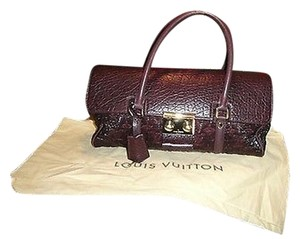 Louis Vuitton Limited Edition Bordeaux Volupte Beaute Satchel in Red