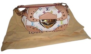 Louis Vuitton White Marilyn Discontinued Excellent Shoulder Bag
