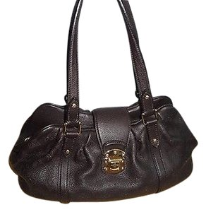 Louis Vuitton Dark Mahina Mm Lunar Excellent Discontinued Shoulder Bag