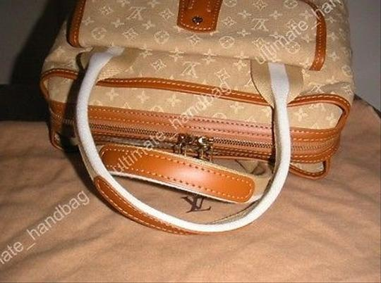 Louis Vuitton Mini Lin Sac Mary Kate Satchel in Beige